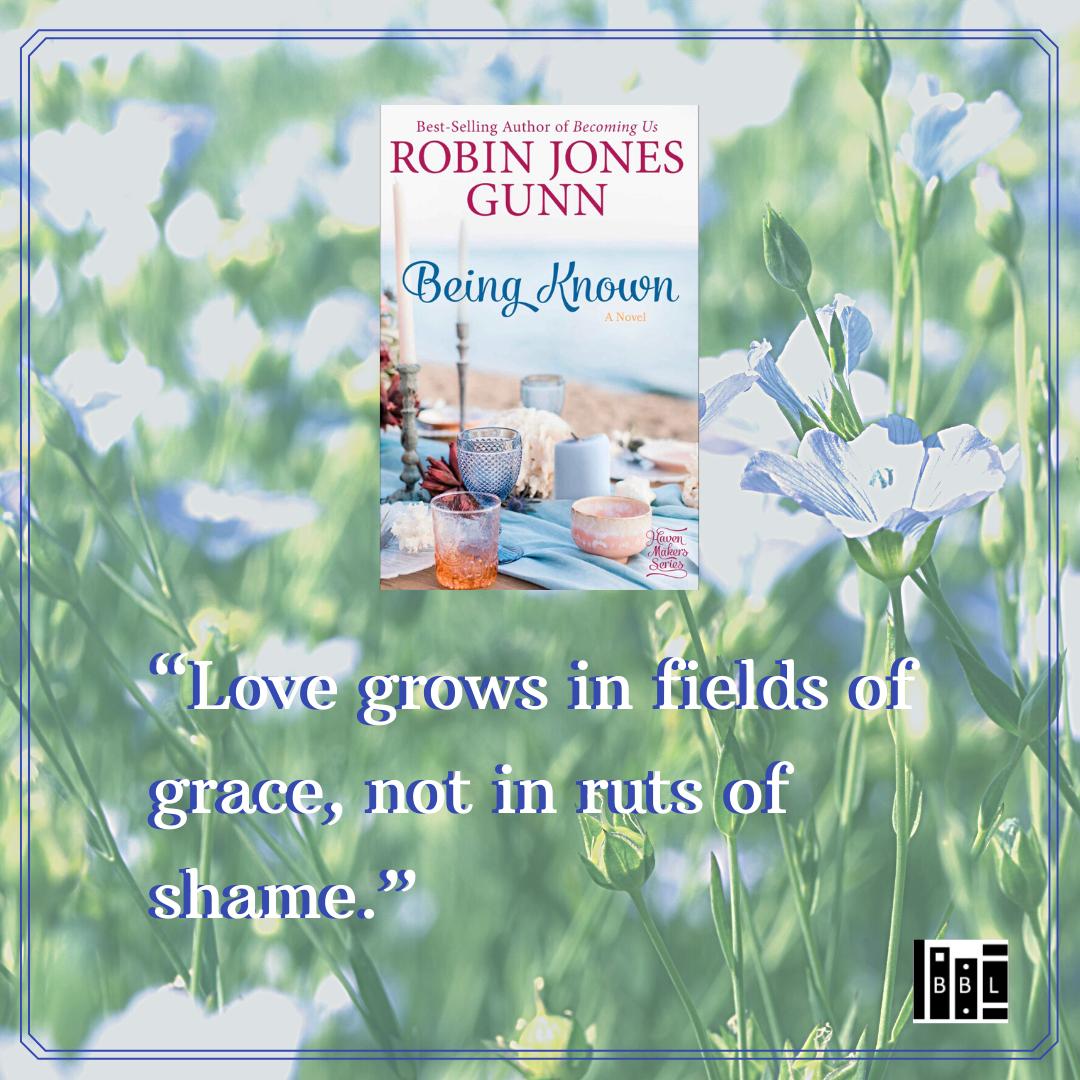 """Love grows in fields of grace, not in ruts of shame."""